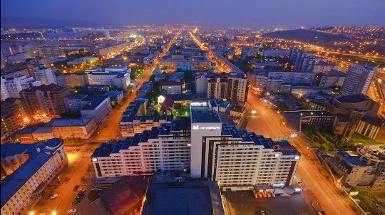 Tarkkailutasot Krasnojarskissa