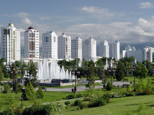 Straten van Ashgabat