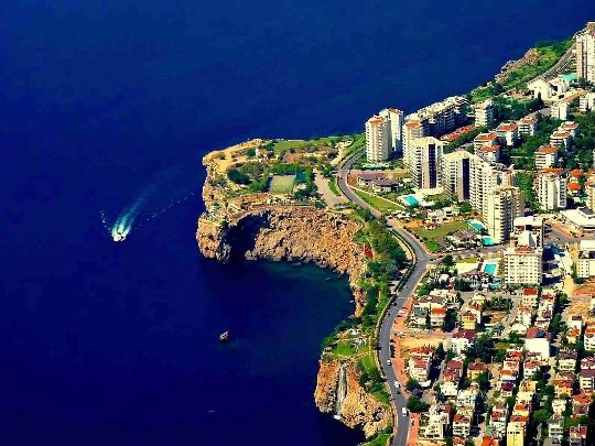 Straten van Antalya