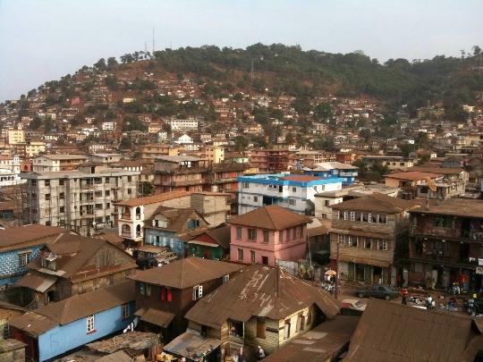 Freetown - Sierra Leonen pääkaupunki