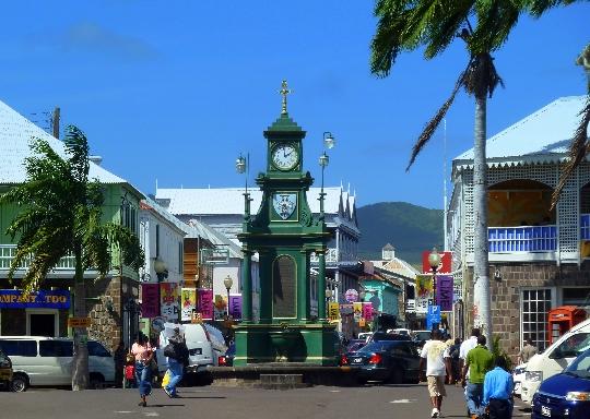 Buster - Saint Kitts ja Nevisin pääkaupunki