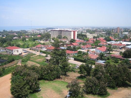 Bujumbura - de hoofdstad van Burundi