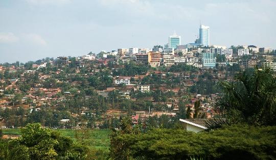 Kigali - de hoofdstad van Rwanda