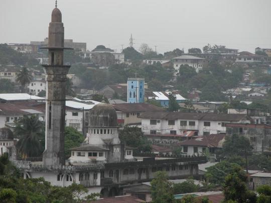 Monrovia is de hoofdstad van Liberia