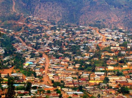 Кигали - столицата на Руанда