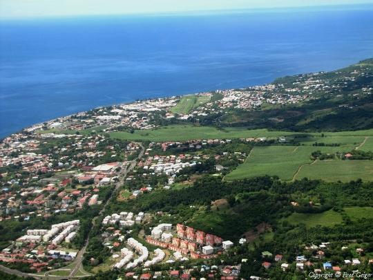 Бас-Тер - столицата на Гваделупа