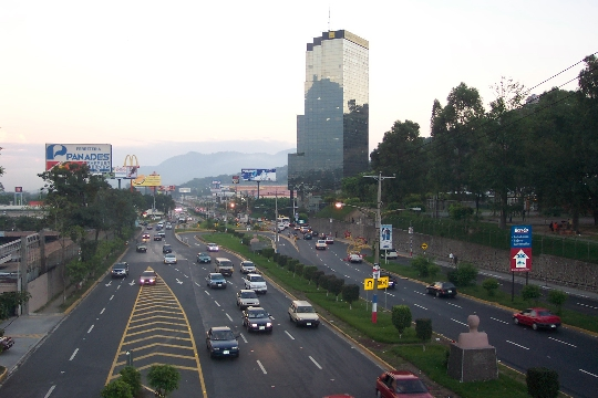 Сан Салвадор - столицата на Салвадор