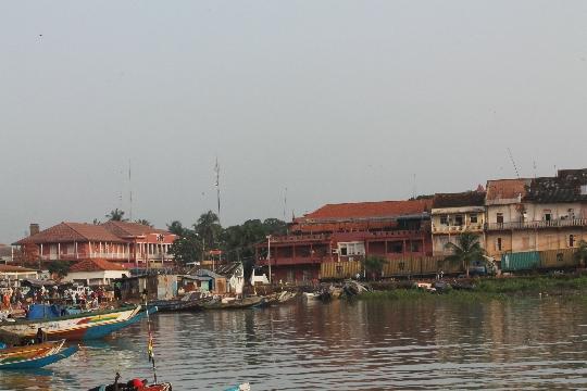 Bissau - de hoofdstad van Guinee-Bissau