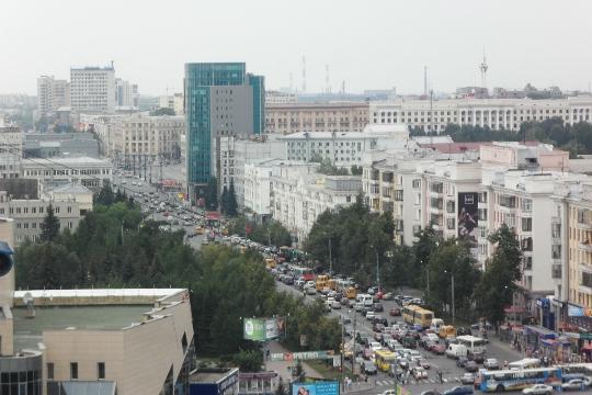 Observatiedekken in Tsjeljabinsk