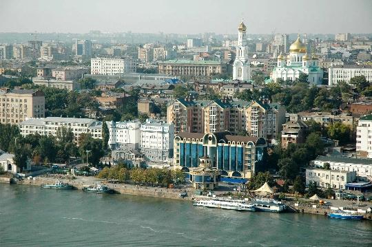 Observatiedekken in Rostov aan de Don