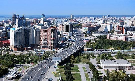 Novosibirskin näköalatasanne