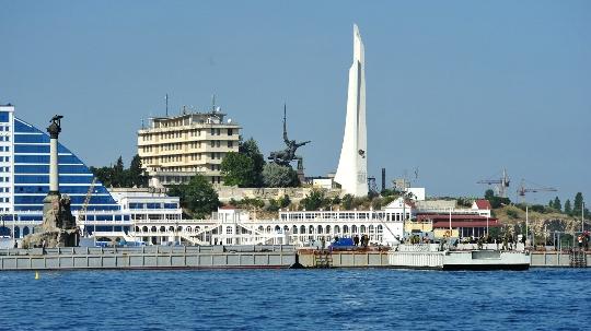 Наблюдателни площадки на Севастопол