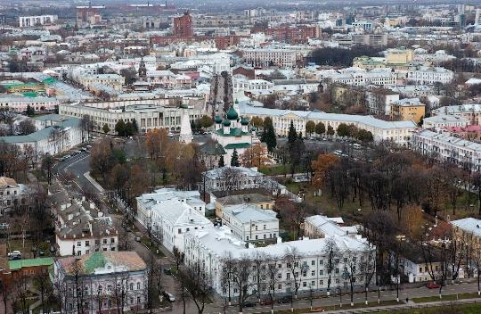 Observatiedekken van Yaroslavl