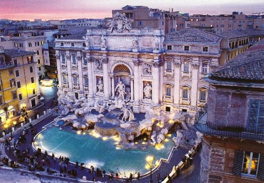 طوابق المراقبة في روما