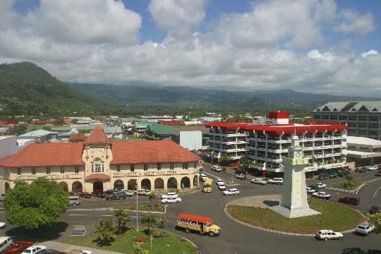 Apia - de hoofdstad van Samoa