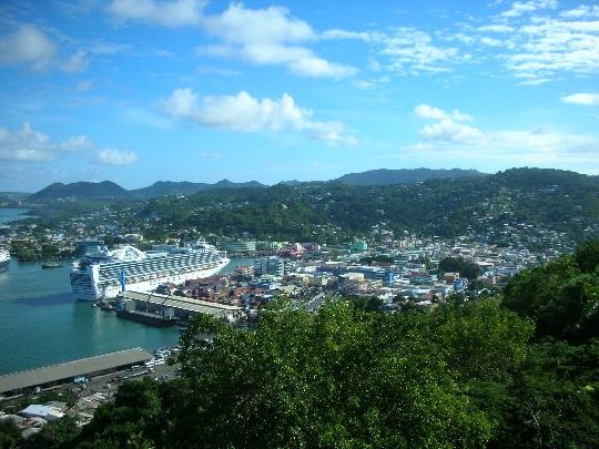 Castries - Saint Lucian pääkaupunki