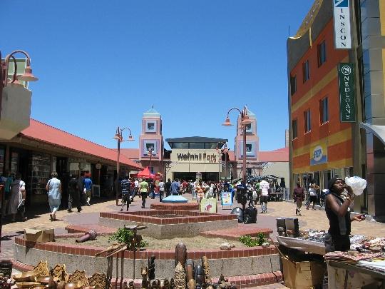 Windhoek - de hoofdstad van Namibië