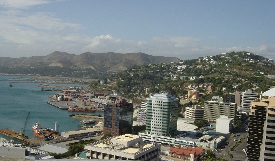 Port Moresby - de hoofdstad van Papoea-Nieuw-Guinea