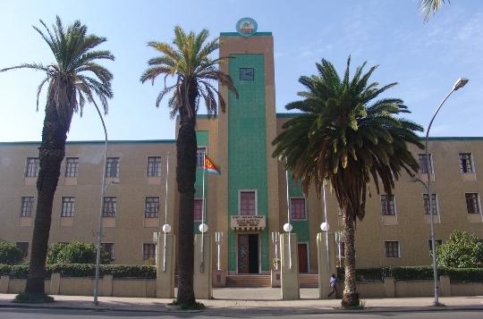 Asmara is de hoofdstad van Eritrea