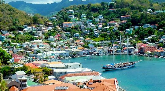 St. George - Grenadan pääkaupunki