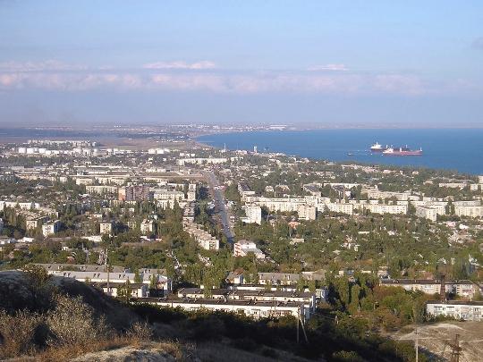 Наблюдателни площадки на Феодосия