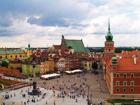 Варшава Наблюдателни площадки