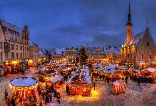 Коледа в Талин