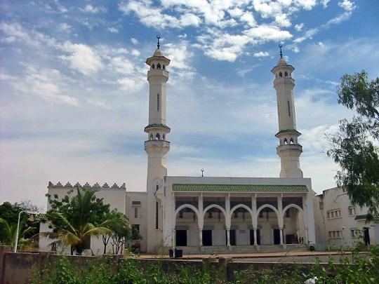 Banjul - de hoofdstad van Gambia