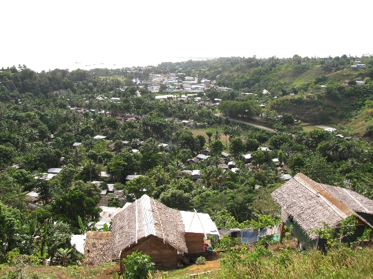 Honiara on Salomonsaarten pääkaupunki