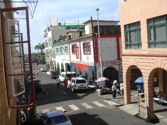 Кингстаун е столица на Сейнт Винсент и Гренадини