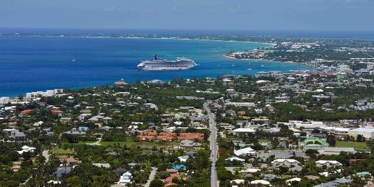 Georgetown är huvudstaden på Caymanöarna