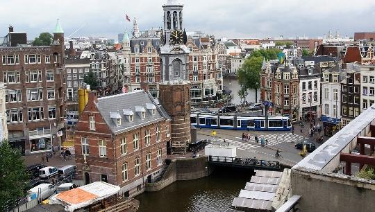 Амстердамски наблюдателни площадки