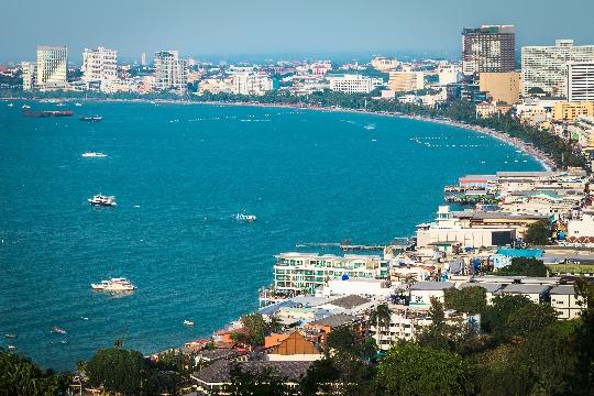 Observatiedekken van Pattaya