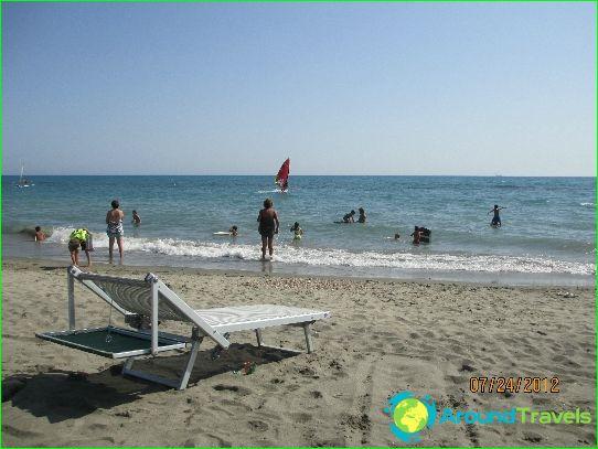 Stranden van Rome