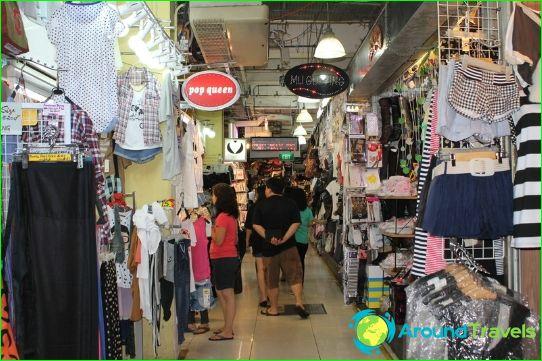 Winkelen in Singapore