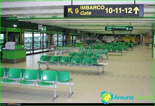 Lentokenttä Bergamossa
