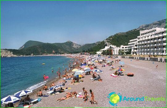 Stranden in Petrovac