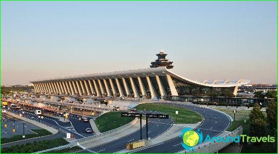 Luchthaven in Washington