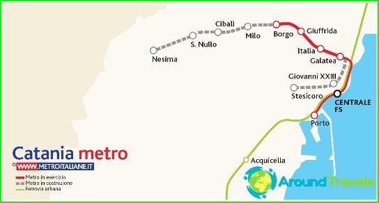 Карта на метрото в Бангалор