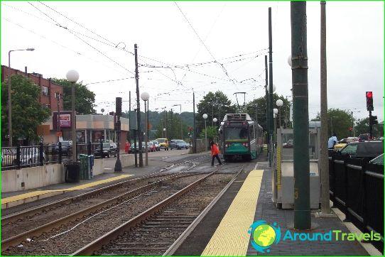 Cleveland Metro: dijagram, fotografija, opis