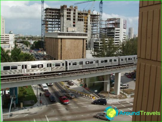 Metro Miami: schema, foto, beschrijving