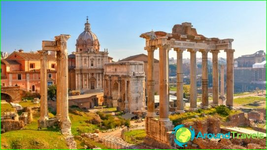 Excursies in Rome
