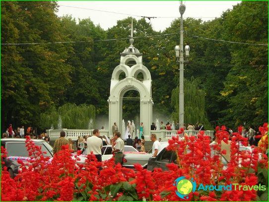 Excursies in Kharkov