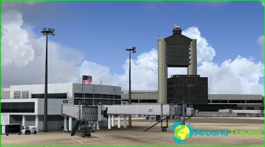Luchthaven in Boston