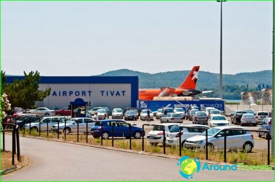 Luchthaven in Tivat