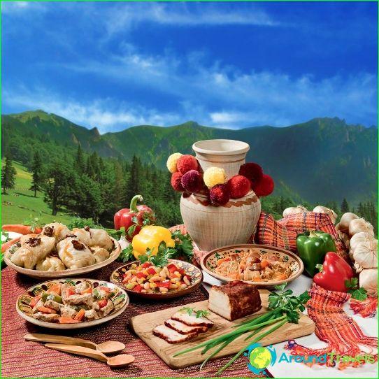 Traditionele keuken van Oekraïne