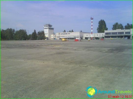 Luchthaven in Krivoy Rog