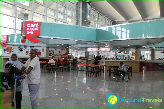 Luchthaven in Bangalore