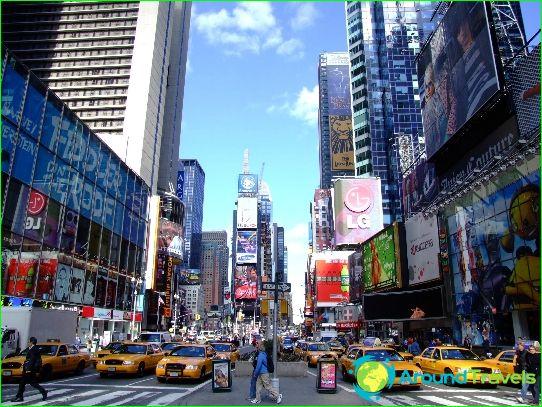 Hinnat New Yorkissa