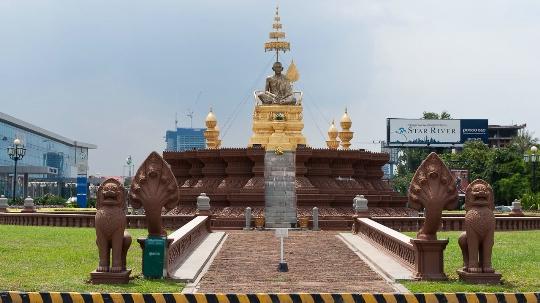 Phnom Penh - de hoofdstad van Cambodja